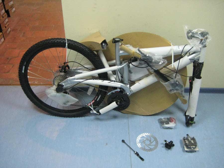 Сборка велосипеда своими руками 62